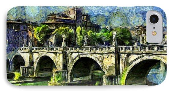 Bridge Of Angels IPhone Case by Leonardo Digenio