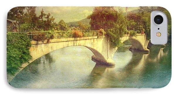 Bridge Of Flowers  IPhone Case by Betty  Pauwels