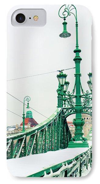 Bridge Of Liberty In Budapest IPhone Case by Anastasy Yarmolovich