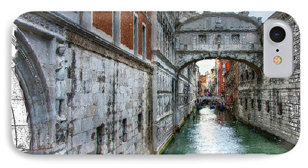 IPhone Case featuring the photograph Bridge Of Sighs by Tom Cameron