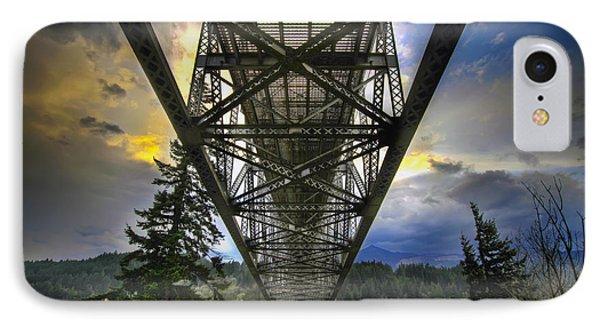 Bridge Of The Gods Phone Case by David Gn