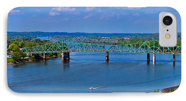 Bridge On The Ohio River IPhone Case by Jonny D