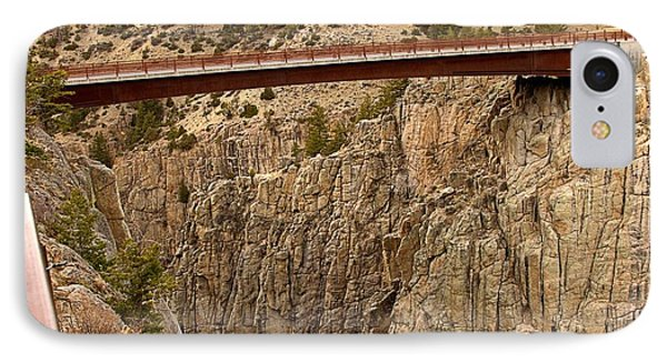 Bridge Over Canyon IPhone Case