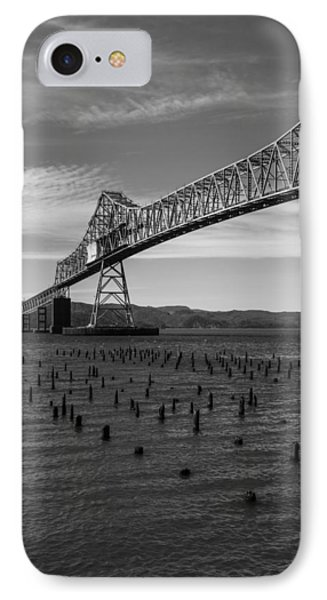 IPhone Case featuring the photograph Bridge Over Columbia by Jeff Kolker