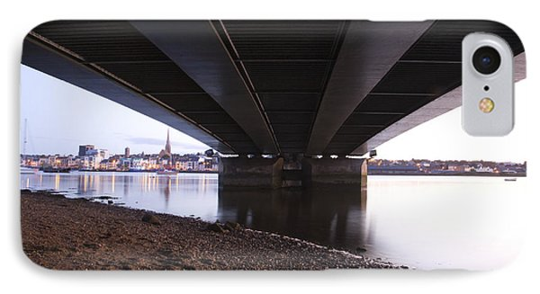 IPhone Case featuring the photograph Bridge Over Wexford Harbour by Ian Middleton