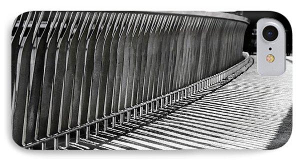 Bridge Shadows IPhone Case by Joan Carroll