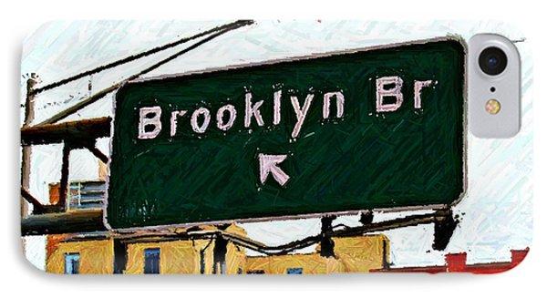 Bridge Thisaway Sketch Phone Case by Randy Aveille