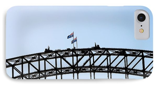 IPhone Case featuring the photograph Bridge Walk by Stephen Mitchell