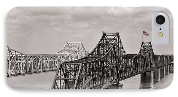 Bridges At Vicksburg Mississippi IPhone Case