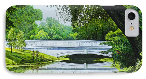 Bridges Of Forest Park IIi IPhone Case by Michael Frank