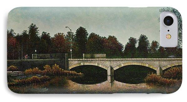 Bridges Of Forest Park Iv IPhone Case by Michael Frank