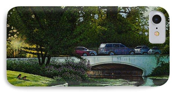 Bridges Of Forest Park V IPhone Case by Michael Frank