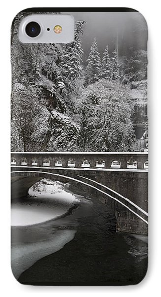 Bridges Of Multnomah Falls IPhone Case