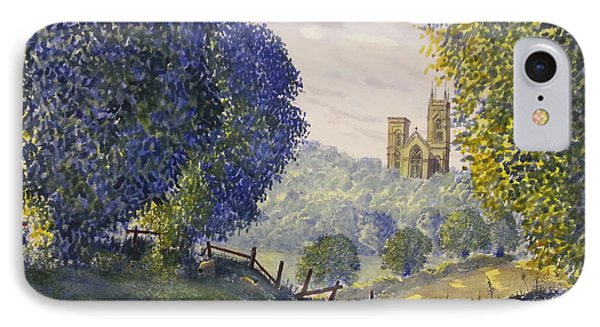 Bridlington Priory From Woldgate IPhone Case