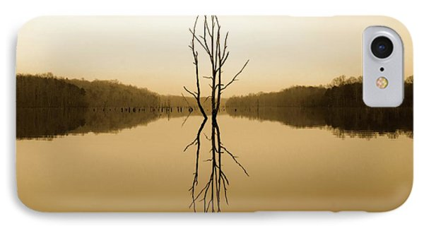 IPhone Case featuring the photograph Briery Creek  by Alan Raasch
