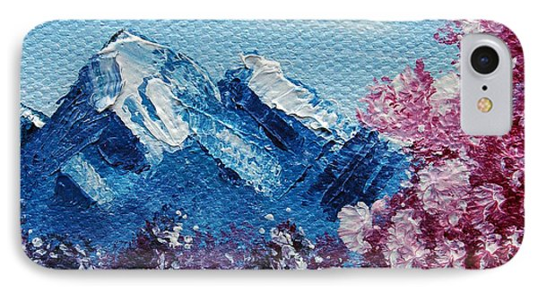 Bright Blue Mountains Phone Case by Jera Sky
