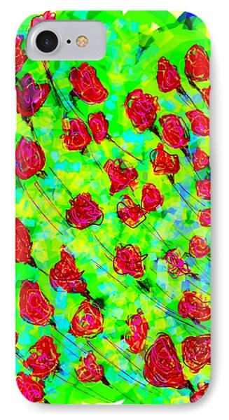 Bright IPhone 7 Case by Khushboo N