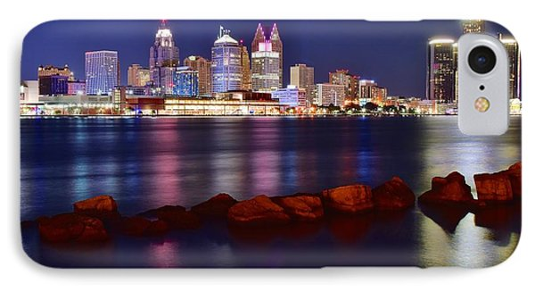 Bright Lights In Detroit IPhone Case