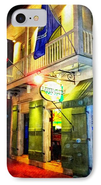 IPhone Case featuring the photograph Bright Lights In The French Quarter by Glenn McCarthy Art and Photography