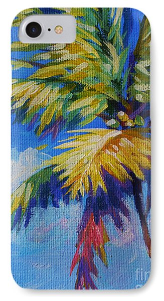 Bright Palm IPhone Case by John Clark
