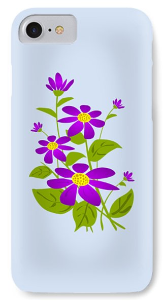 Bright Purple Phone Case by Anastasiya Malakhova