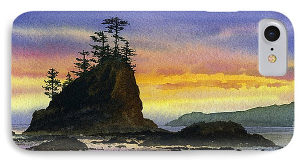 Bright Seacoast Sunset Phone Case by James Williamson