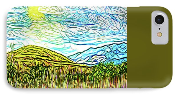 Bright Sky Summer - Field In Boulder County Colorado IPhone Case by Joel Bruce Wallach