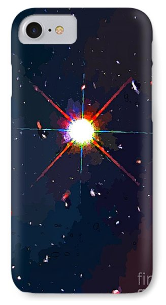 Bright Star IPhone Case by John Malone