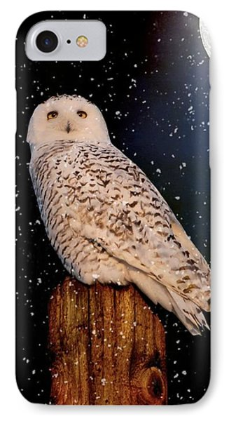 Brighter Than The Moonlight IPhone Case by Heather King