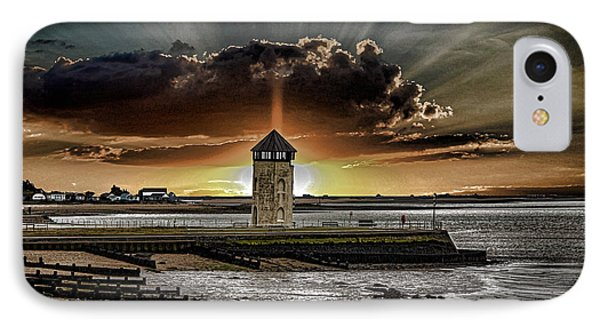 Brightlingsea Beach IPhone Case by Martin Newman