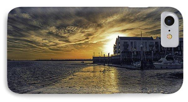 Brightlingsea Harbour IPhone Case