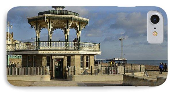 Brighton Bandstand IPhone Case by Nichola Denny