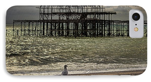 Brighton Pier IPhone Case by Martin Newman