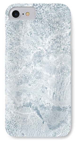 IPhone Case featuring the photograph Brilliant Shine. Series Ethereal Blue by Jenny Rainbow