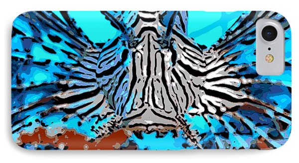 Brilliant Stripes Phone Case by George Pedro