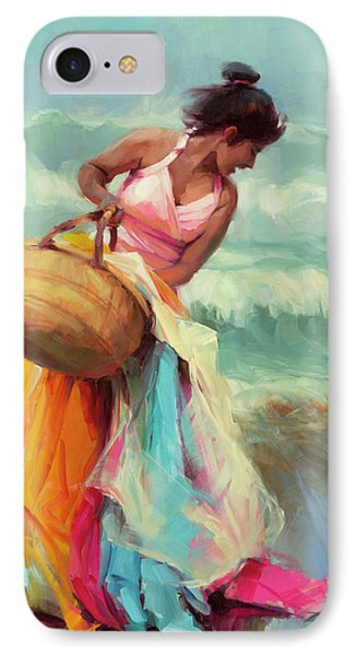 Pacific Ocean iPhone 7 Case - Brimming Over by Steve Henderson
