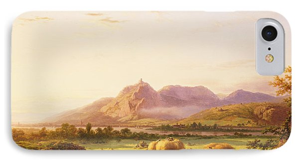 Bringing In The Harvest IPhone Case by Pieter Lodewijk Francisco Kluyver