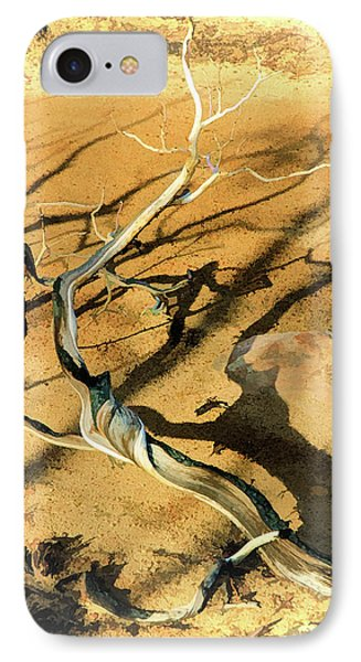 Brins Mesa 07-100 Burnt IPhone Case by Scott McAllister
