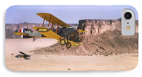 IPhone Case featuring the photograph Bristol Fighter - Aden Protectorate  by Pat Speirs