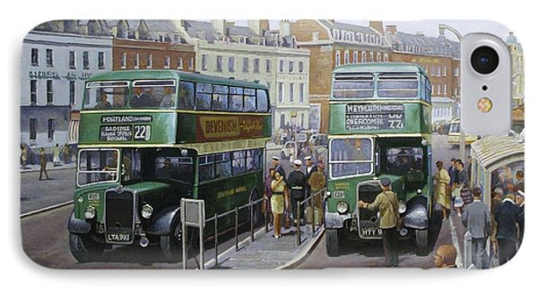 Bristols At Weymouth Phone Case by Mike Jeffries