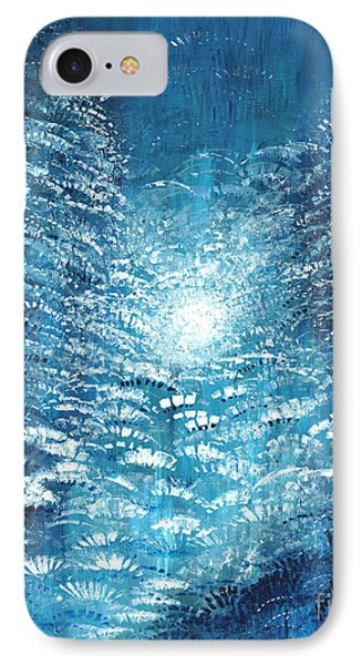 IPhone Case featuring the painting Brite Nite by Holly Carmichael