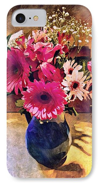 Brithday Wish Bouquet IPhone Case by MaryLee Parker