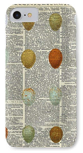 British Birds Eggs IPhone Case by Jacob Kuch