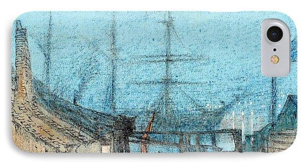 British Chatham Dockyard IPhone Case by MotionAge Designs