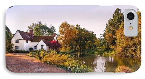 British Village IPhone Case by Svetlana Sewell