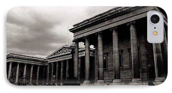 London iPhone 7 Case - #britishmuseum #london #thisislondon by Ozan Goren