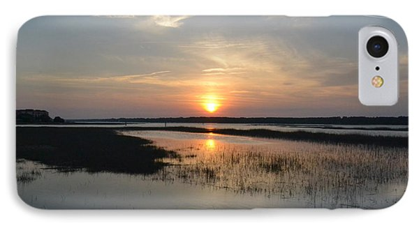 IPhone Case featuring the photograph Broad Creek Sunset by Carol  Bradley