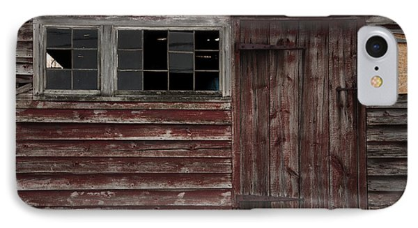 Broad Side Of A Barn IPhone Case by Debra Fedchin