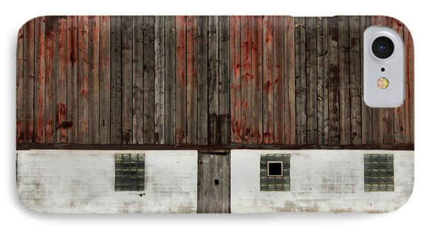 IPhone Case featuring the photograph Broad Side Of A Barn by Julie Hamilton