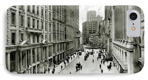 Broad St South Of Wall Street 1911 IPhone Case